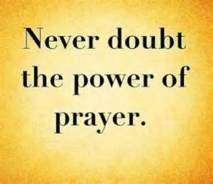Power of Prayer Words