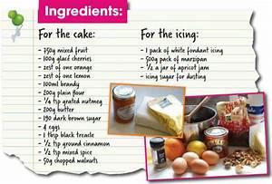 Make your own Christmas Cake Wilkolife