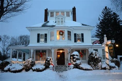 winter bed and breakfast 181 best images about new states