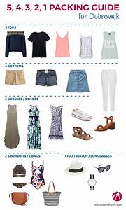 What To Pack For Dubrovnik  Croatia