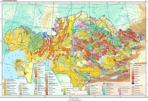 Геологическая карта Казахстана: iv_g — LiveJournal