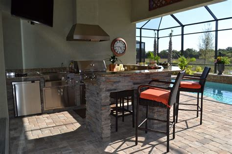 Outdoor Kitchens In Sarasota  Past Projects Radil