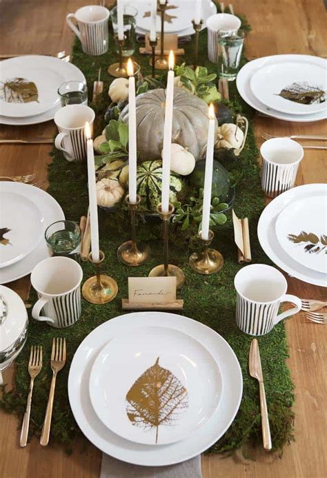 thanksgiving tablescape decorating ideas  natural