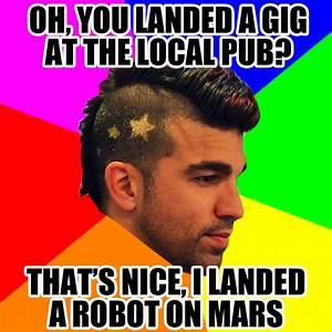 [Image - 369546]   NASA Mohawk Guy   Know Your Meme