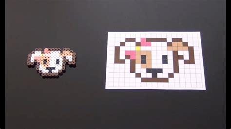 cute perler bead puppy part  youtube