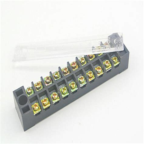 Wiring Terminal by 10 Pieces Terminal Block 600v 15a 10 Pin Combined Terminal