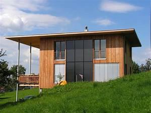 Ein Haus Bauen Kosten : plus energie holzhaus als kraftwerk plusenergiehaus ~ Markanthonyermac.com Haus und Dekorationen