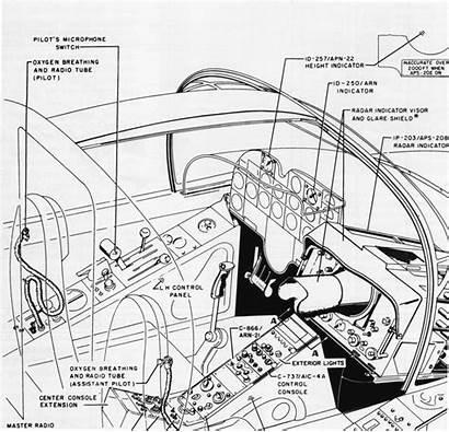 Ad 5w Skyraider Douglas Radar 20b Cabin