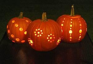 Diy, Pumpkin, Carving, With, A, Drill, U2022, The, Garden, Glove