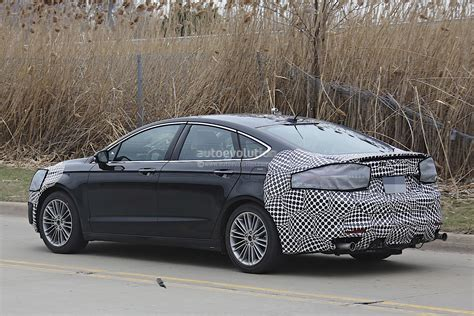 2017 Ford Fusion (mondeo Facelift) Spied Autoevolution