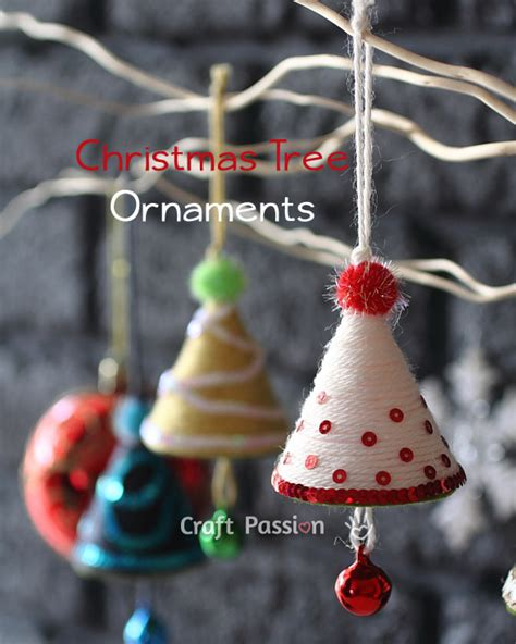 tree ornament diy tutorial craft - Ornaments For Christmas To Make