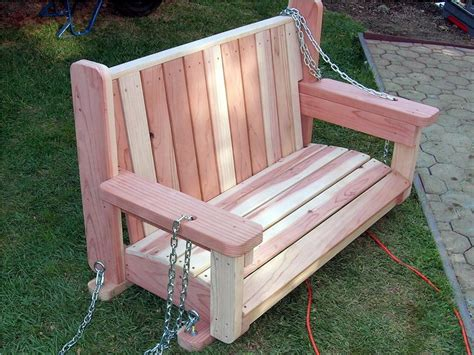 wooden garden swing seat plans tranquility