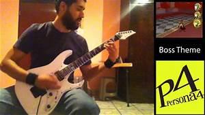 Persona 4  Boss Theme Guitar Cover
