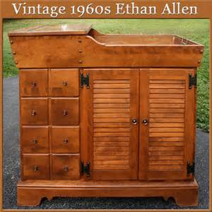 ethan allen furniture maple 1960 s 1960s ethan allen