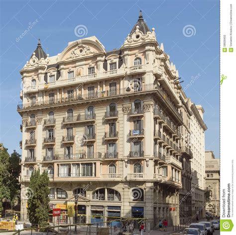 Architecture Typique De Barcelone Image éditorial Image