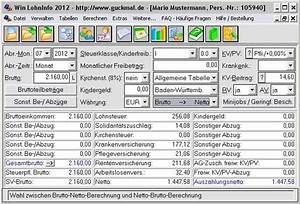 Lohn Berechnen Brutto Netto : brutto netto gehaltsrechner kostenlos ~ Themetempest.com Abrechnung