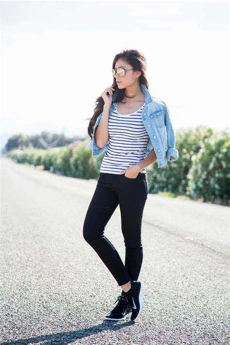 how to style sneakers this summer casual