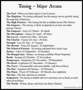 Timing In The Tarot With Free Cheat Sheets Tarot