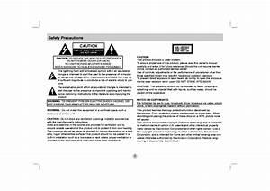 Lg Dp271 Usermanual Service Manual Download  Schematics
