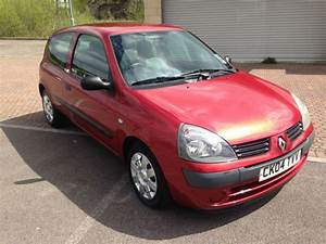 2004 Renault Clio 1 5dci 65 Authentique Diesel 3 Door Met Red    Orange  U00a330 Tax