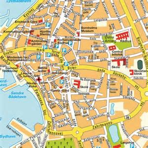 skagen design plan rønne hovedstaden danemark cartes plans et itinéraires maps