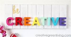 Be Creative Wood Pallet Sign - Craft Warehouse