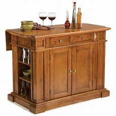 Home Styles™ Cottage Oak Kitchen Island With Breakfast Bar
