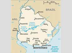 Mapa de Uruguay Uruguay Mapa Mapa Uruguay
