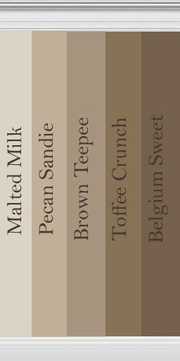 brown collection behr for that inevitable bathroom redo