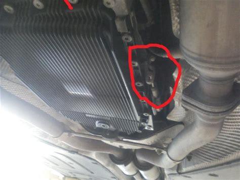 2004 Bmw 745li Problems by 2004 745li Changed Transmission Pan When Put The Car