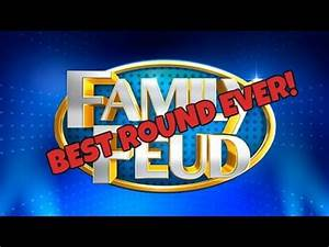 BEST ROUND EVER!   Family Feud Game - YouTube