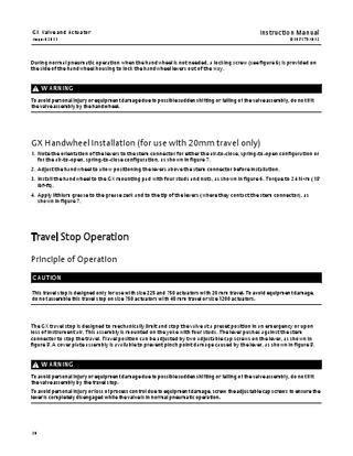 GX Valve Instruction Manual Aug 2011 by RMC Process