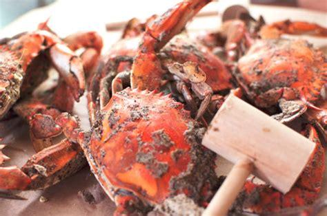 baltimore  season  visit  famous obryckis crab