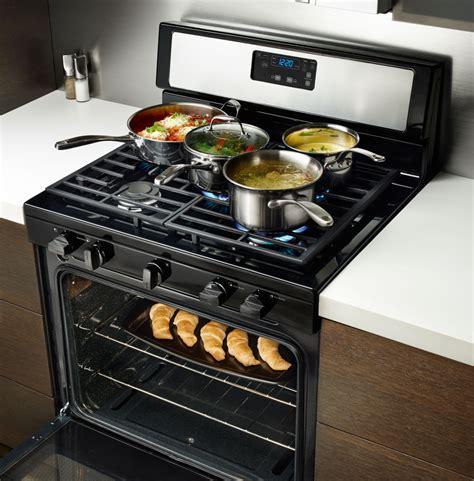 whirlpool wfgmbs   freestanding gas range   sealed burners simmer burner  cu
