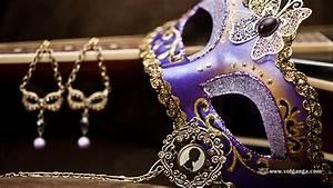 Enigmatic Masquerade Masks (Wallpaper Collection) | Volganga