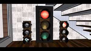 Stop Turn And Lights Google Sketchup 8 Animation Led Traffic Signals With 8