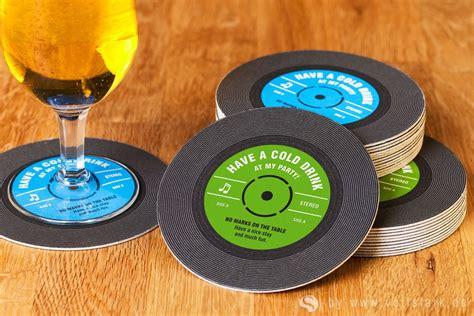 schallplatte als einladungskarte orion original vinyl