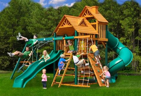 Big Backyard Play Equipment by Outdoor Playsets Playground Sets For