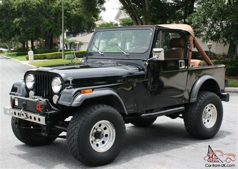 rust free california florida vehicle 1985 jeep cj7