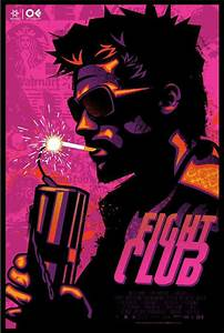 Fight Club - movie poster - James White | Fight Club Stuff ...