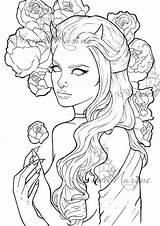 Coloring Peony Printable Adult Grey Drawings Peonies Scale Tattoo Drawing Colouring Medusa Pfaff Arte Grayscale Stencils Colors Outline Amazing Schizzi sketch template