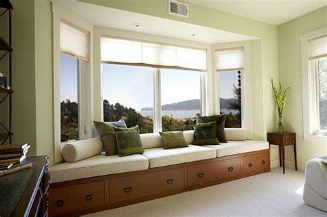 window treatments  bay windows ny city blinds