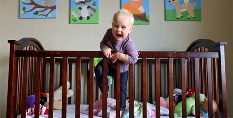 baby climbing out of crib 3 ways to spend your baby dollars wisely