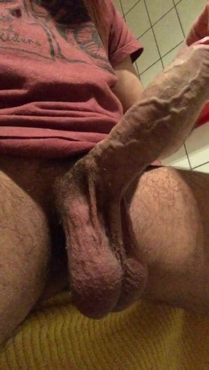 Huge Cock With Low Hanging Balls Contractions Gay Porn Bf