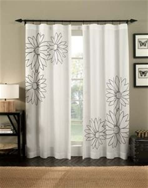 gray and white ombre curtains from target are the perfect
