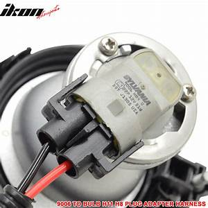 9006 Bulb To H11 H8 Headlight Fog Light Conversion Wiring
