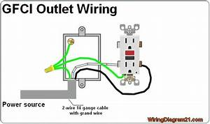 Fan Wiring Diagram For Gfi