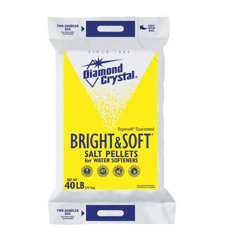 Diamond Crystal Bright & Soft Water Softener Salt Pellets