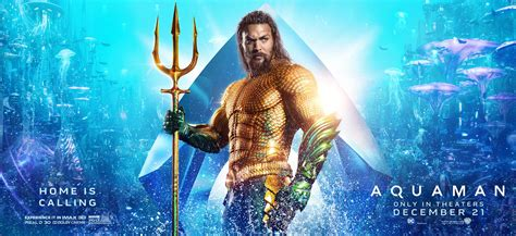 aquaman  poster  trailer addict