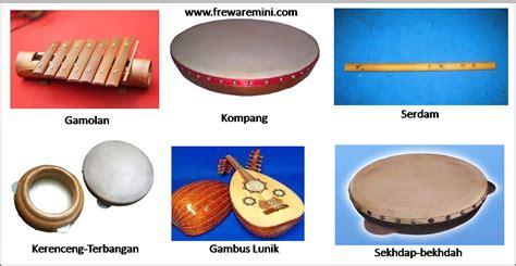 جامبي) adalah sebuah provinsi indonesia yang terletak di pesisir timur di bagian tengah pulau sumatera. macam-macam alat musik